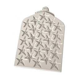 View the Star Alphabet design mat silicone icing mould online at Cake Stuff