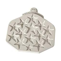 View the Star Numbers design mat silicone icing mould online at Cake Stuff