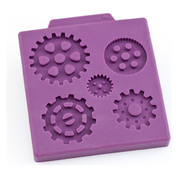 View the STEAMPUNK MULTI GEAR silicone sugarcraft mould online at Cake Stuff