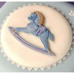 View the ROCKING HORSE icing sugarcraft cutter online at Cake Stuff