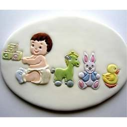View the 5 pc NURSERY SET icing sugarcraft cutters online at Cake Stuff