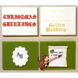 View the OLD ENGLISH ALPHABET icing sugarcraft cutter set online at Cake Stuff