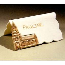 View the NAME PLACE SETTING B - Church - icing cutter online at Cake Stuff