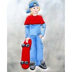View the SKATEBOARDER icing sugarcraft cutter online at Cake Stuff
