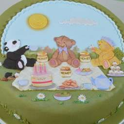 View the 15 pc TEDDY BEARS PICNIC icing sugarcraft cutter set online at Cake Stuff