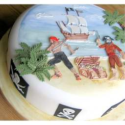 View the PIRATES 7 pc icing sugarcraft cutter set online at Cake Stuff