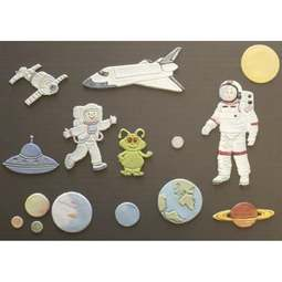 View the SPACE SET 11 pc icing sugarcraft cutters online at Cake Stuff
