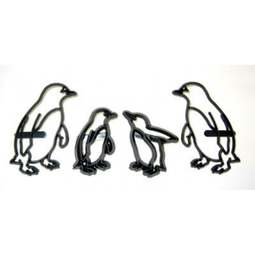 View the PENGUINS 4 pc icing sugarcraft cutter set online at Cake Stuff