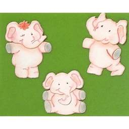 View the ELEPHANTS 3 pc icing sugarcraft cutter set online at Cake Stuff