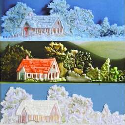 View the HOUSE SIDE DESIGN icing sugarcraft cutter online at Cake Stuff