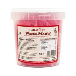 View the 1kg FUCHSIA PINK Sugar Modelling Paste online at Cake Stuff