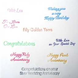 View the CELEBRATION LETTERING 9 pc icing cutter set online at Cake Stuff