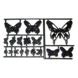 View the BUTTERFLIES, LADYBIRDS & BEES 17pc icing sugarcraft cutter set online at Cake Stuff