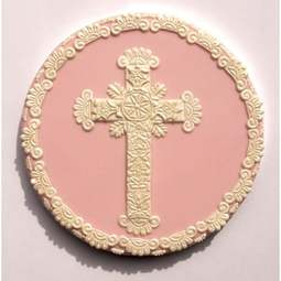 View the 7 pc LARGE CROSS LACE SET icing sugarcraft cutters online at Cake Stuff