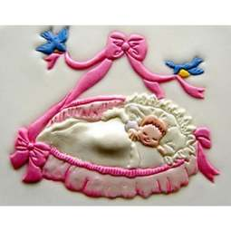 View the BABY IN BASKET icing sugarcraft cutter online at Cake Stuff
