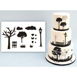View the COUNTRYSIDE SILHOUETTE 14 pc icing sugarcraft cutter set online at Cake Stuff