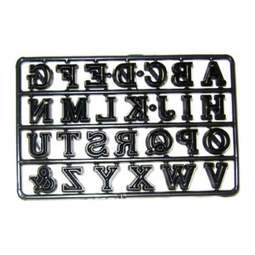 View the ALPHABET CAPITALS icing sugarcraft cutter set online at Cake Stuff