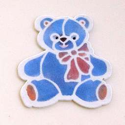 View the TEDDY cake stencil & icing cutter set online at Cake Stuff