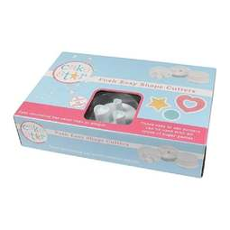 View the SHAPES Push Easy icing plunger cutter set online at Cake Stuff