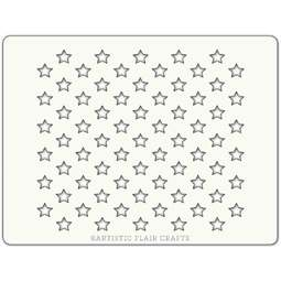 View the ALL STARS professional cake icing stencil online at Cake Stuff