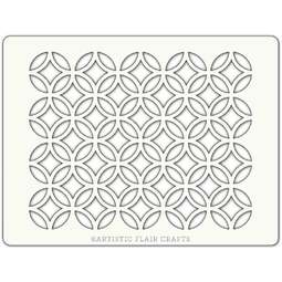 View the LATTICE professional cake icing stencil online at Cake Stuff