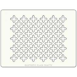 View the MOROCCAN TILE professional cake stencil online at Cake Stuff