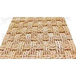 View the RUSTIC BASKETWEAVE by Alice silicone icing mould online at Cake Stuff