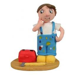 View the DIY HANDY MAN cake topper decoration online at Cake Stuff