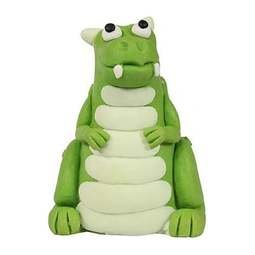 View the GREEN DRAGON gum paste cake topper decoration online at Cake Stuff