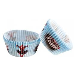 View the SPIDERMAN cupcake baking cases pk 50 online at Cake Stuff
