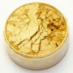 View the GOLD SUPER 10ml non-edible lustre metallic dust icing colour online at Cake Stuff