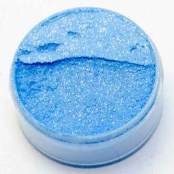 View the BLUE SUPER 10ml non-edible lustre metallic dust icing colour online at Cake Stuff