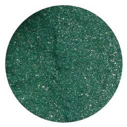 View the HOLLY GREEN SPARKLES 10ml non-edible lustre dust icing colour online at Cake Stuff