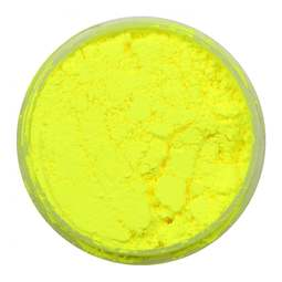 View the LUNAR YELLOW Lumo 10ml non-edible fluorescent dust icing colour online at Cake Stuff