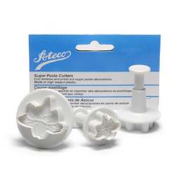 View the Lily Flower 3 piece plunger icing cutter veiner set online at Cake Stuff