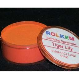 View the TIGER LILY Rainbow Spectrum 10ml non-edible dust icing colour online at Cake Stuff