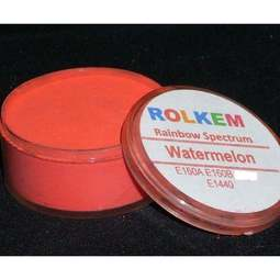 View the WATERMELON Rainbow Spectrum 10ml non-edible dust icing colour online at Cake Stuff
