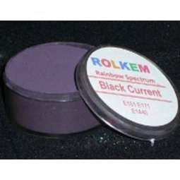 View the BLACK CURRANT Rainbow Spectrum 10ml non-edible dust icing colour online at Cake Stuff