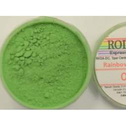 View the OLIVE GREEN Rainbow Spectrum 10ml non-edible dust icing colour online at Cake Stuff