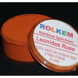 View the LEONIDAS ROSE Rainbow Spectrum 10ml non-edible dust icing colour online at Cake Stuff