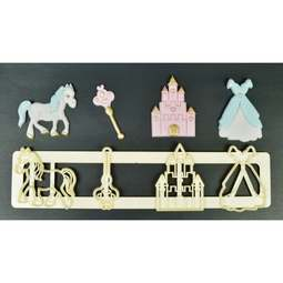 View the FAIRYTALE MOTIFS Tappit fondant icing cutter set - 4 designs online at Cake Stuff