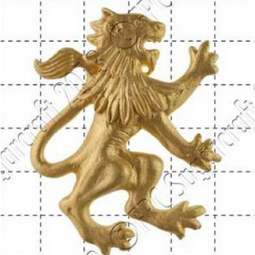 View the Rampant Lion (right) silicone icing sugarcraft mould online at Cake Stuff
