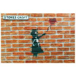 View the BRICK WALL silicone icing sugarcraft mould online at Cake Stuff