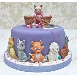 View the 5 CATS by Alice silicone icing sugarcraft mould set online at Cake Stuff