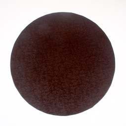"View the 14"" BROWN round thick cake board / drum online at Cake Stuff"