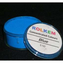 View the BLUE Concentrated 10ml non-edible dust icing colour online at Cake Stuff