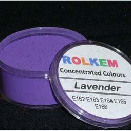 View the LAVENDER Concentrated 10ml non-edible dust icing colour online at Cake Stuff