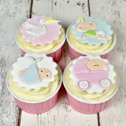 View the ADORABLE BABY Tappit fondant icing cutter set - 4 designs online at Cake Stuff