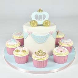 View the PRINCESS CARRIAGE fondant icing cutter set of 2 online at Cake Stuff