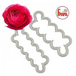 View the EASIEST RANUNCULUS EVER 2 pc icing flower cutter set online at Cake Stuff